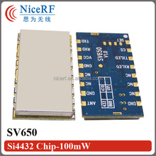 SV650 - 500mW RS232/RS485 interface 2km~3km RF wireless transmitter and receiver module