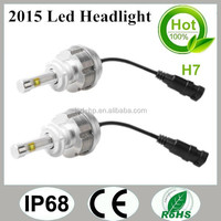 Auto Led 3600lm H1 H3 H7 H8 H9 H11 Headlight for Mitsubishi Lancer