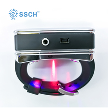 Laser therapy watch for treating rhinitis