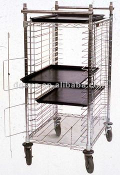 2013 hot sale wire shelving with ESD Conductive Plastic Trays