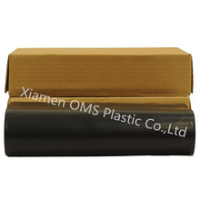 HDPE 20ftx100ft 6mil clear black color plastic poly sheeting construction film