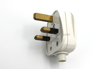 13A UK plug to Euro socket