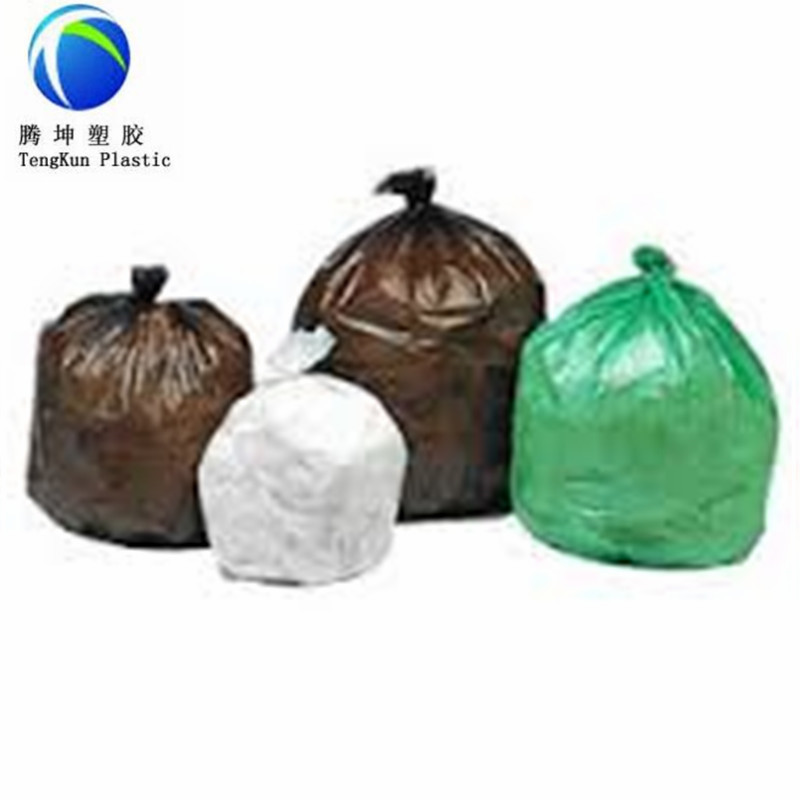Green Garbage Bag with Hot Sale Free Samples <strong>PE</strong> Material