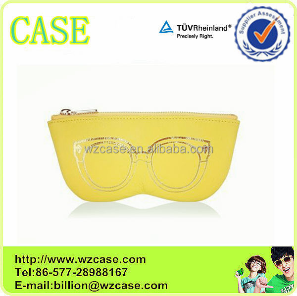 WENZHOU CASE 2014 fashion leather bag glasses bag LB60