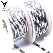 DIY HIFI Shield Suspension Cotton yarn Braided 8mm expandable mesh tube cable protection sleeve