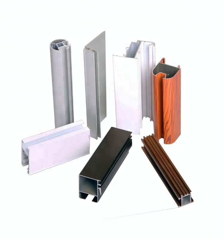All Types Of Aluminium Extrusion Aluminium Profile