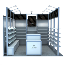 Modern Trade Show Standard Exhibition Booth Design