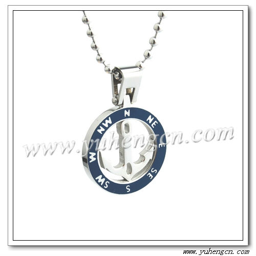 Stainless Steel Anchor Pendants,Fashion Mens Jewelry