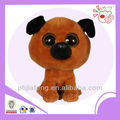 Plush big eyes head dog ,stuffed dog toys