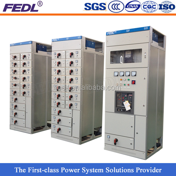 GCS1 industrial complete low voltage switchgear panel