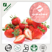 100% water soluble natural Flavoring Agents strawberry powder food grade Pure natrual strawberry Powder