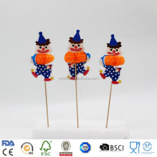 Factory Wholesale party decoration clown style toothpicks