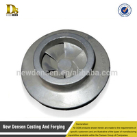 Chinese production pump for high quality production of 316 stainless steel investment casting impeller according to the drawing