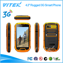 2014 new products 4.3 inch Quad Core water proof shock proof Cell Phone