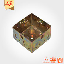 "Galvanized Iron Combinable 4"" Inch Small Metal Electrical Junction Box"