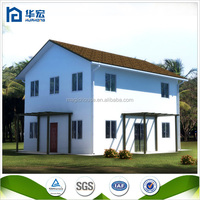 2016 hot sale china modern european style villa prefab kit house modular home villa