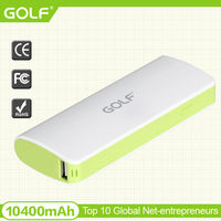 rechargeable power bank 10400mah universal power bank battery charger