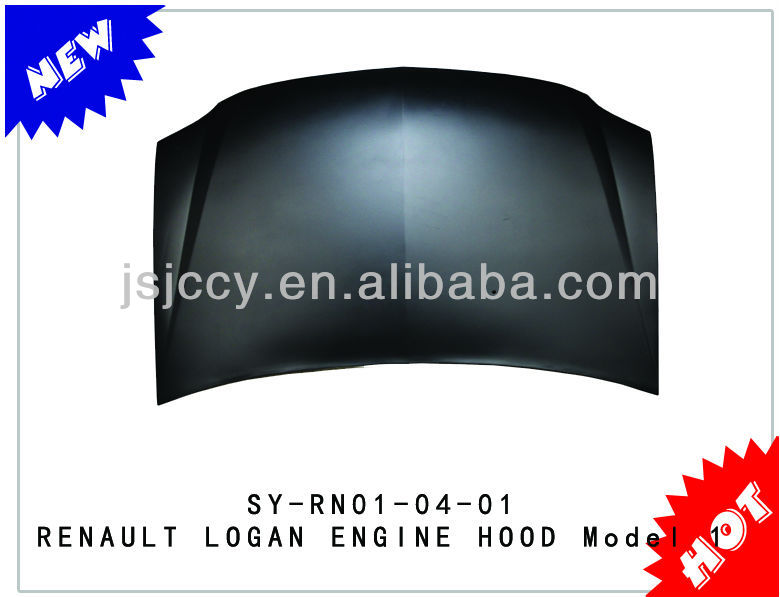 HOT SELLING AND NEW ITEM RENAULT LOGAN ENGINE HOOD MODEL 1