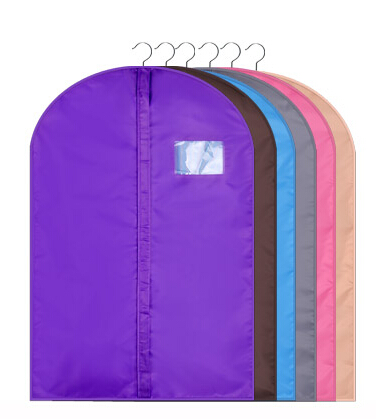 Plastic custom printed wedding dress garment bags with low price