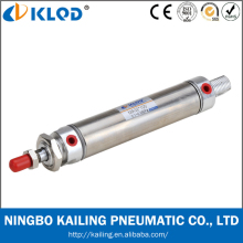 China MA Stainless Steel Mini Pneumatic Air Cylinder,Single/Double Cylinder