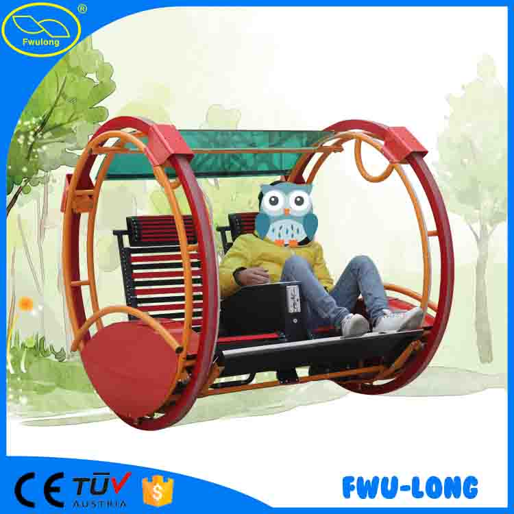 Amusement kiddie rides outdoor electric happy car/kids car for children attraction