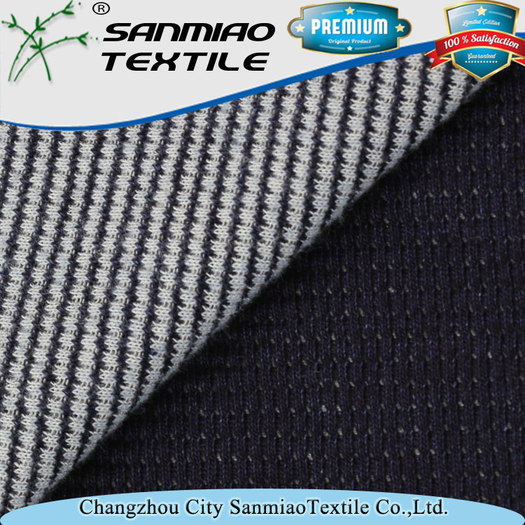 High quality factory price waffle knitted 100 cotton fabric