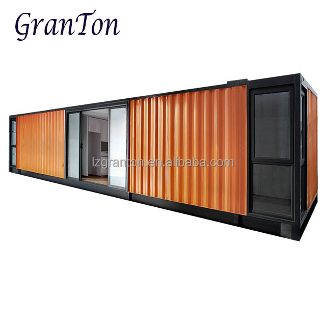 20ft 40ft low pricecustomized mobile living prefabricated container house with EPS sandwich panel materials from granton