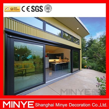 Big Glass Sliding Door Price Double Glazed Sliding Door Aluminum Door