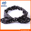 Latest Handmade Modern Star Printed Cotton Fabric Baby Infant Toddler Headband