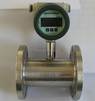 liquid turbine flowmeter for fuel flow measurement and control