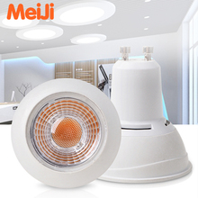 2017 ZhongShan New Dimmable GU10 MR16 Cob Led bulb Light 3w 5w 7w Led spotlight