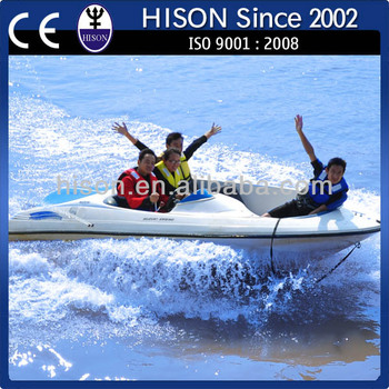 2014 Hison China factory directly sale fiberglass speed boat