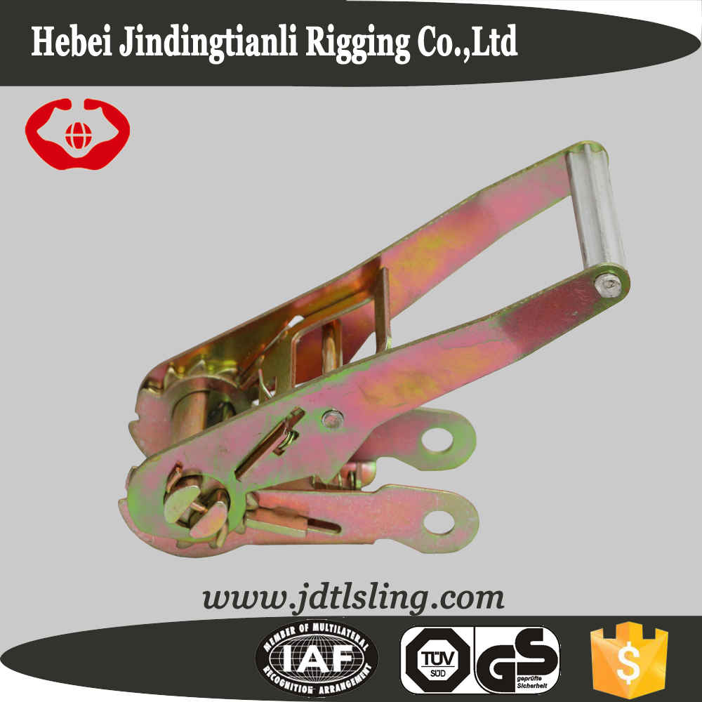 Stainless steel ratchet belt buckle for ratchet strap