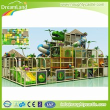 Indoor soft play structure commercial kids indoor jungle gym