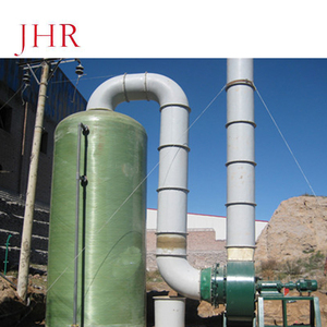 FRP GRP Parallel Bed Gas absorption Scrubber Tower