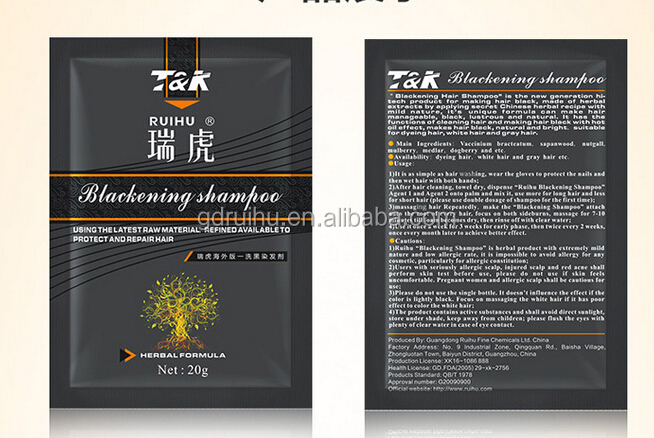 OEM Sachet Shampoo 1 Day Hair Dye