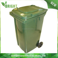 BEST QUALITY! EN840 pure materials Industrial Waste Collection 240l plastic trash bin