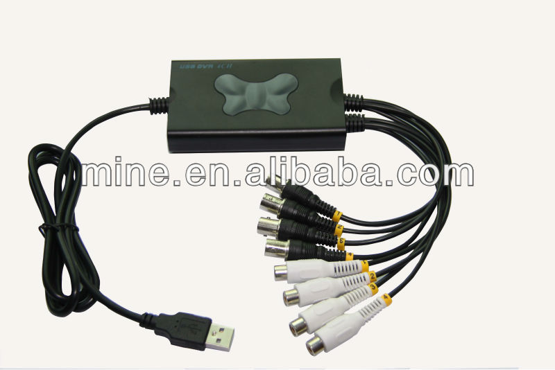USB DVR_4CH Real time Capture Box_VCAP-3106