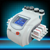 RU+8 Vacuum rf radio frequency fat burning machineeffective laser cavitation low level laser beauty machine for slimming