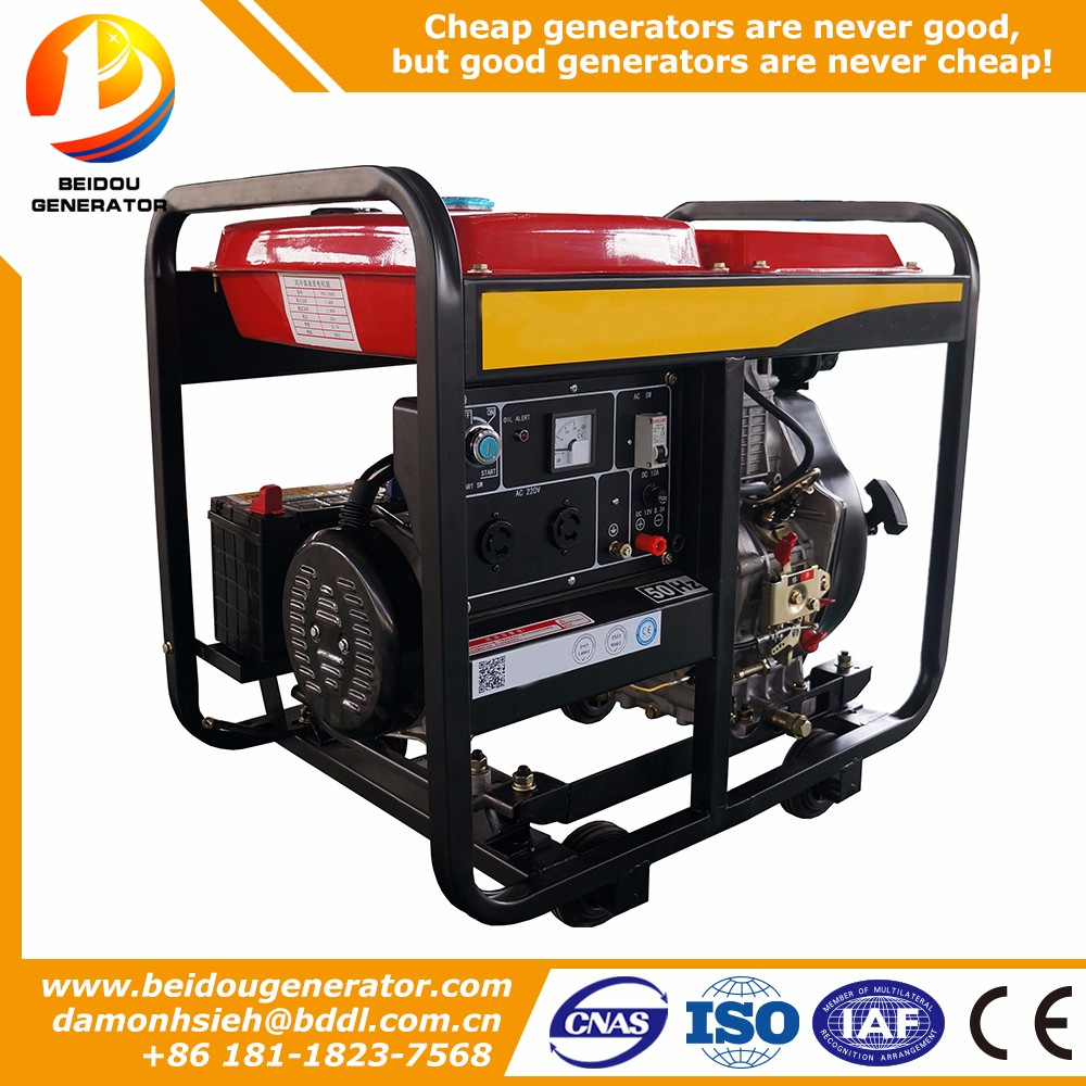 portable generator diesel 3kva with price 3kw portable silent diesel generator for sale
