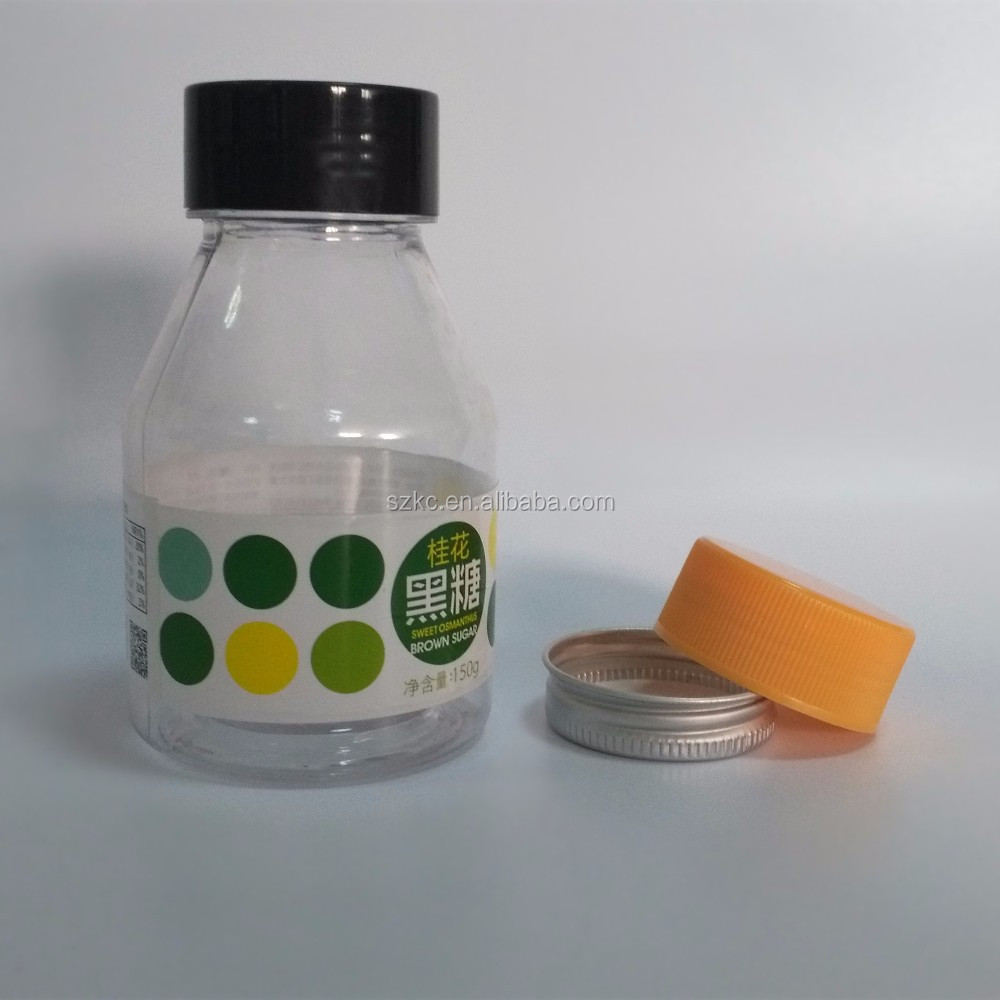 pharmaceutical pills/candy plastic PET bottle 250ml with screw cap