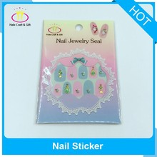 OEM New Type 3D Rhinestone Nail Art Decoration Tips Stickers