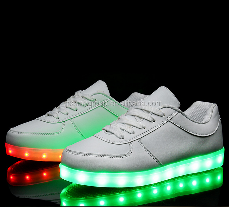 Buy shoes china OEM Colorful and Rechargeable led shoes light