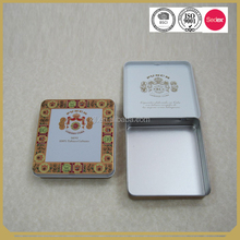 Square Customized printing tin container metal box