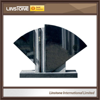 Wholesale black poland tombstone from China supplier