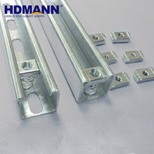 High Quality Construction Material Steel High Silicon Strut Channel Price
