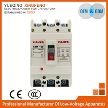 Manufacturer provide straightly,MCCB CM1-100L /80A, 400V,3p 80a molded case circuit breaker,circuit breaker 80a