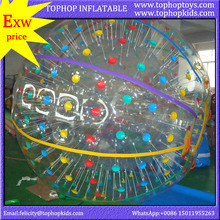 factory price pvc tpu UK human hamster zorbing ball for kid on sale
