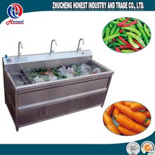Carrot Cassava Brush Type Washing Machine, Stainless Steel Washing Machine For Fruit And Vegetable
