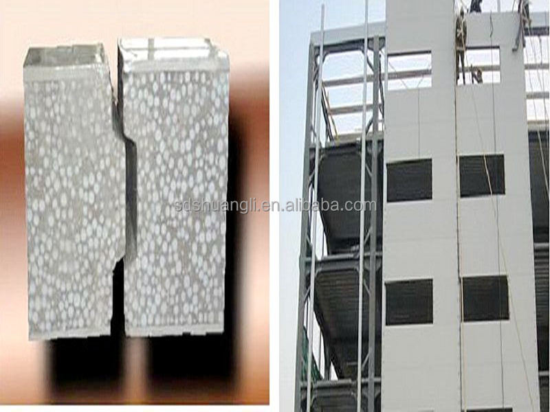 lightweight EPS cement Sandwich Panel / EPS concrete Sandwich Panel Price/ Eps Foam Sandwich Wall Panel